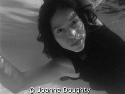 Aida in black and white by Joanne Doughty