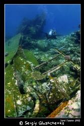 Wreck Kormoran by Sergiy Glushchenko