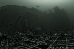 "Searching-rescue ship ""Sevan"", Baltic sea, depth 32m Can... by Aleksandr Marinicev"
