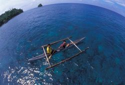 Boat Boys from the islands by Eric Leong