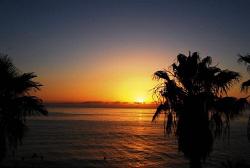 Sunrise over the Sea of Cortez, Cabo Pulmo by Alex Klingen