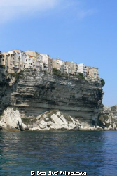 """Upper the Sea"". Bonifacio is an old town south of Corsic... by Bea & Stef Primatesta"
