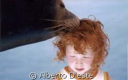 Carlotta & sea lion by Alberto D'este