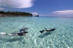 crystal clear!, Nassau, Bahamas. by Leon Joubert