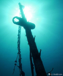 This is a photo of a wreck called Twin Sisters in Nassau.... by Steven Anderson
