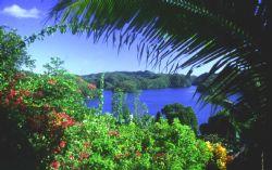 Palau Scenic; Nikon F; Vivitar 28-300mm Lens by Rick Tegeler