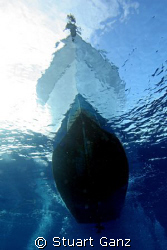 Bottom of the boat on desent.... by Stuart Ganz