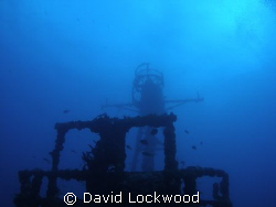 USCG Duane off of Tavernier Key, Florida. Looking up to t... by David Lockwood