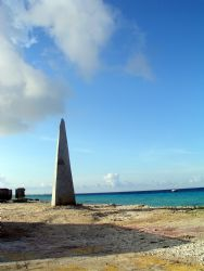 Bonaire Coastline..taken shortly before a dive in the mor... by Meredith Lynch
