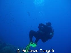 The observer by Vincenzo Zangrilli