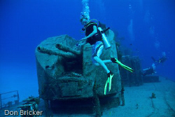 The former Russian missile frigate turned artificial reef... by Don Bricker
