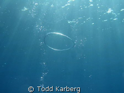 Safety stop ring bubble by Todd Karberg
