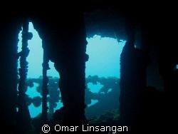Inside the Kyokuzan Maru Shipwreck by Omar Linsangan
