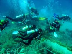Diving the Yolanda werck Sharm by Andy (Buzz) Coles
