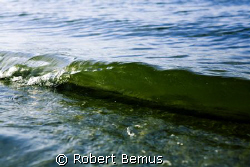 "Shorebreak...3"" boatwake by Robert Bemus"