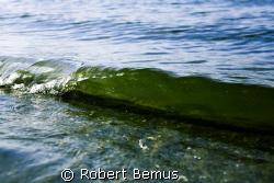 "Shorebreak...3"" boatwake by Robert Bemus"