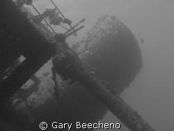 Black & White Wreck by Gary Beecheno