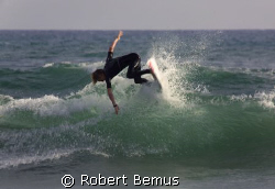 Watch this...intentional slow shutter speed... by Robert Bemus