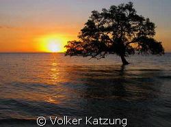 sunset at Metinaro by Volker Katzung