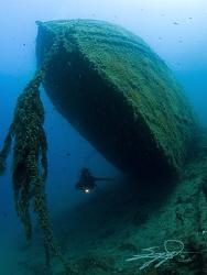 Unknown wreck. by Nicholas Samaras