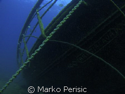 Chained to its resting place. The back section of the  Br... by Marko Perisic