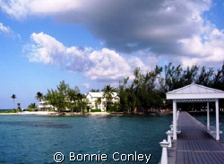 Kaibo Yacht Club on the east end of Grand Cayman.  We wer... by Bonnie Conley