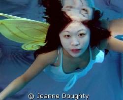 fairy magic under the water by Joanne Doughty