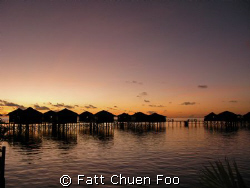 Sipadan Water Village at dawn, taken just before my first... by Fatt Chuen Foo
