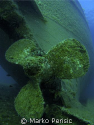 Prop section of the Bratislava wreck. by Marko Perisic