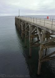 Trefor pier  S5PRO, 18-200mm. by Derek Haslam