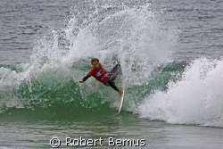 Pro power...Nate Yeomans, Oakley Newport Beach Pro contes... by Robert Bemus