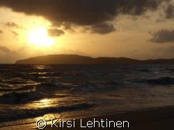 Low Season sunset at Ao Nang Beach, Thailand. Olympus E-420 by Kirsi Lehtinen