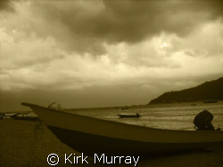 Clouds rolling in off the mainland, taken with dc500 by Kirk Murray