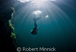 This is a shot of a Mermaid I took in Lake Rawlings where... by Robert Minnick