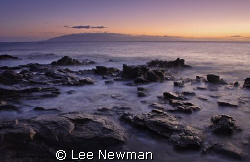 Evening at Kapalua Bay, Maui. Shot with a Canon 30D, 17-4... by Lee Newman