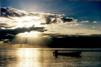 Kadavu Light Show.  N90s w/35mm lens. by Beverly Speed
