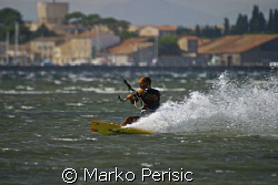 Kite Surfer II by Marko Perisic