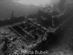 Wreck in the south Red Sea/Olympus C5060WZ, wide-angel le... by Melita Bubek
