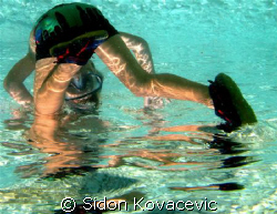 his first dive by Sidon Kovacevic
