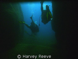 exiting cave by Harvey Reeve