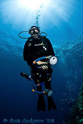 My Angel, first best dive buddy for 24 years (and wife fo... by Ross Gudgeon