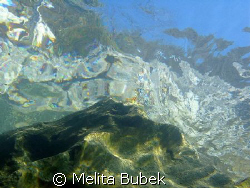 River Soca, 2m depth...1/200s, f/7,1 by Melita Bubek