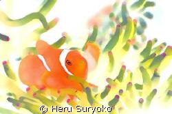 watercolor nemo by Heru Suryoko