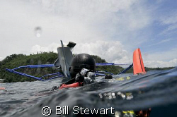 """""""Waiting for Pickup""""   The boat makes its way to us while... by Bill Stewart"""