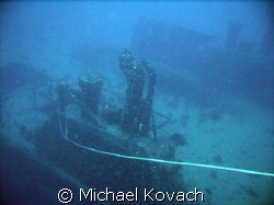 wreck off of Fort Lauderdale by Michael Kovach