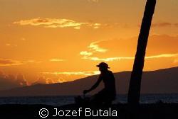 sunset at Kihei,,Maui,Hawaii,,,,,Nikon D40 by Jozef Butala