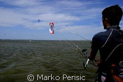 Kite Surfer V by Marko Perisic