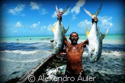 Fisherman at Itamaracá Island. Pernambuco. Brazil. by Alexandro Auler