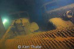 This was shot inside the Hoki Maru at 142' with my Nikon ... by Ken Thate