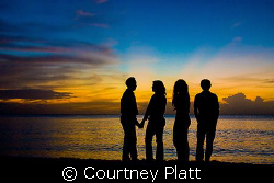 """""""Colors of the Caribbean""""  The night of arrival on Seve... by Courtney Platt"""